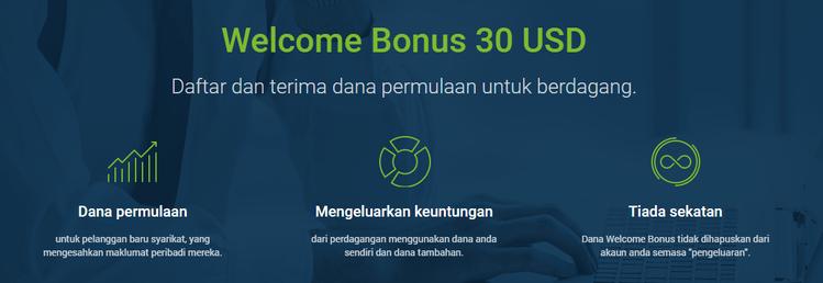 Broker Forex Terbaik untuk No Deposit Bonus Tahun 2020